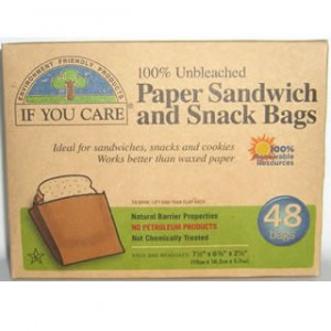 If You Care paper sandwich and snack bags $5.50